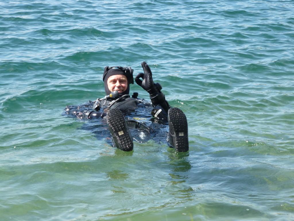 Antauchen am Schwarzen See